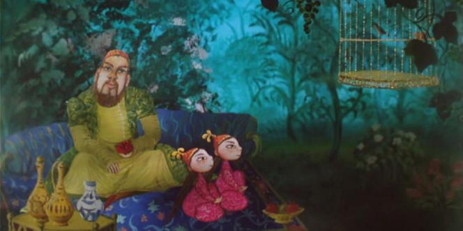 Une image du progamme composé de quatre courts-métrages d'animation russes,