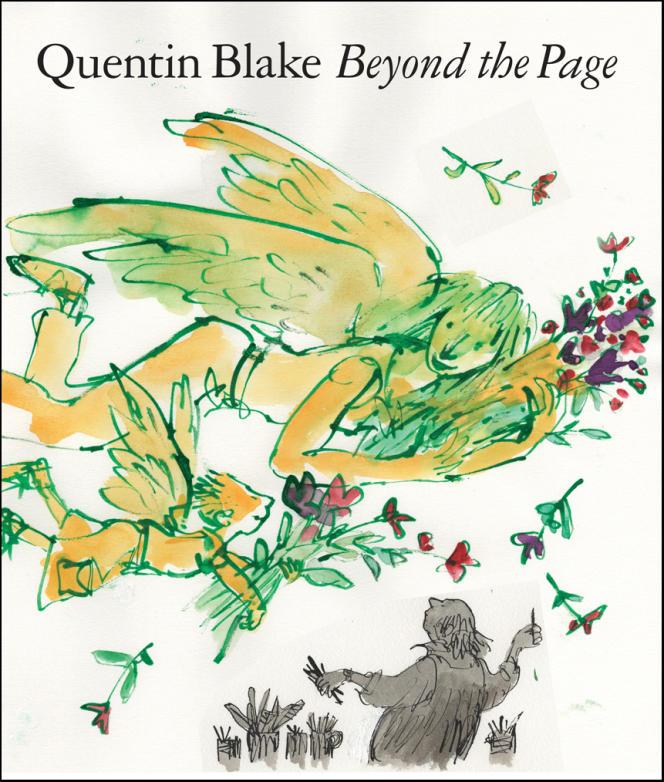 Couverture de l'album de Quentin Blake,