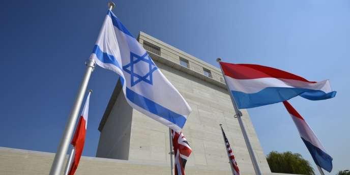 Le Musée de l'Holocauste et des droits de l'homme Kazerne Dossin à Malines, en Belgique.