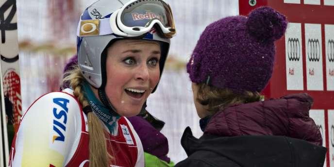 Lindsey Vonn, le 30 novembre.