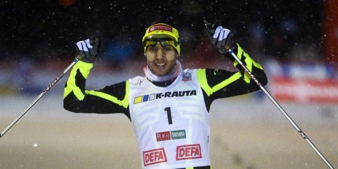Jason Lamy Chappuis, le 1er décembre en Finlande.