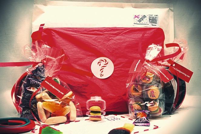 Candyscover envoie chaque mois sa sélection de bonbons.