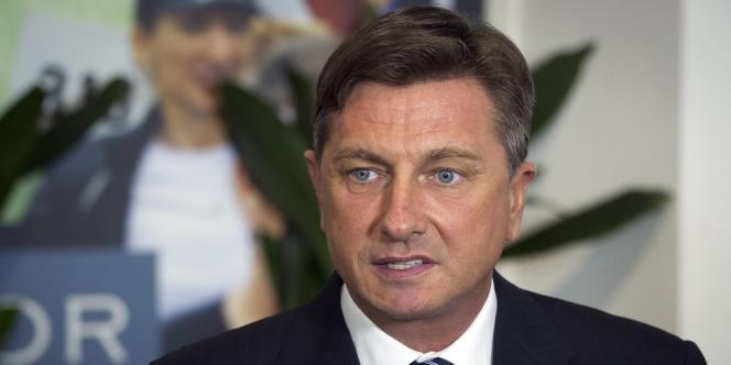 L'ancien premier ministre Borut Pahor a remporté l'élection présidentielle en Slovénie le 2 décembre 2012.