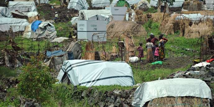 Le camp de Mugunga 3, le 24 novembre dernier.