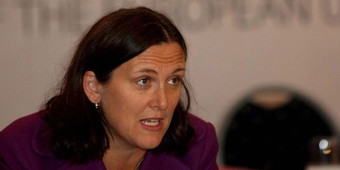 Cecilia Malström, commissaire européenne aux affaires intérieures.