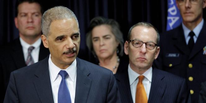 L'Attorney General, Eric Holder, le 15 novembre.
