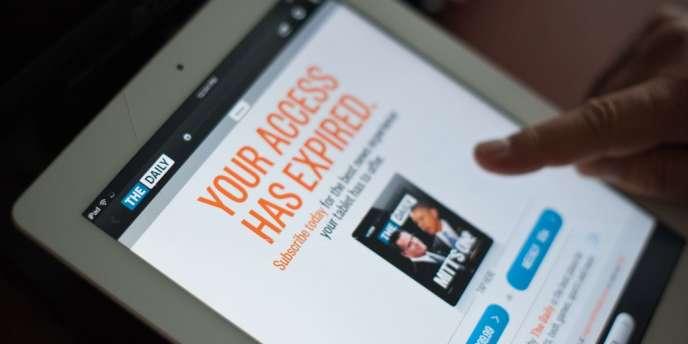 The Daily, premier et seul quotidien uniquement publié sur tablette, va cesser de paraître le 15 décembre 2012.
