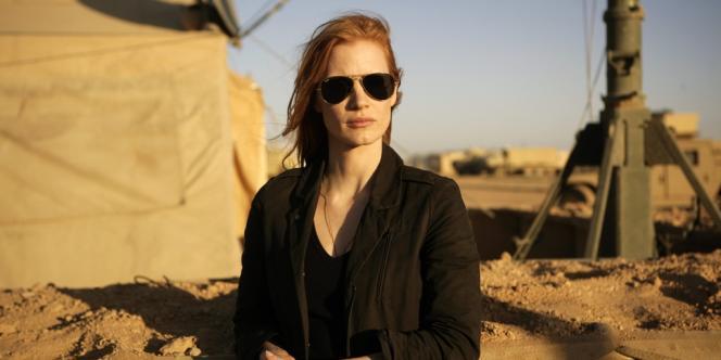 L'actrice Jessica Chastain joue le rôle d'une analyste de la CIA qui a joué un rôle décisif dans la traque et la mise à mort de Ben Laden.