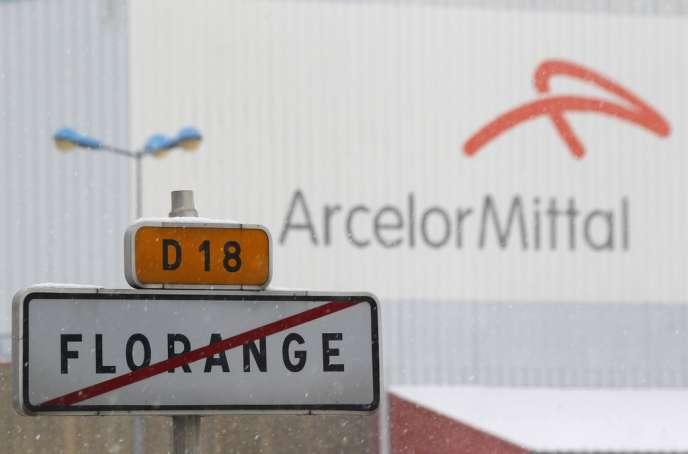 Florange, le 3décembre2012. Le cas du site de sidérurgie a inspiré la «loi Florange».