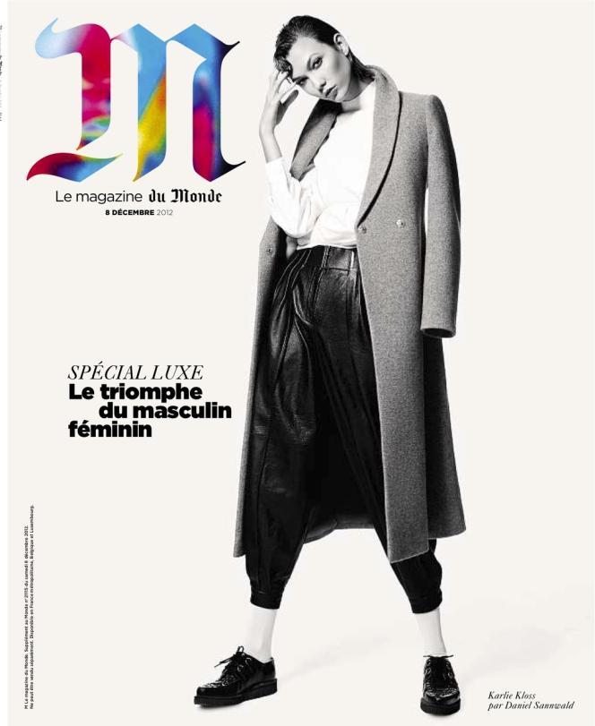 La couverture de M Le magazine du Monde, en kiosques le 7 décembre.