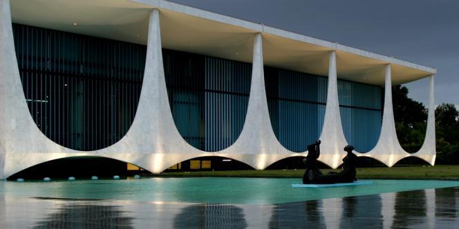 Le palais de l'Aurore, résidence des présidents de la République, à Brasilia.