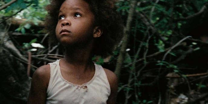 Quvenzhané Wallis dans le film américain de Benh Zeitlin,