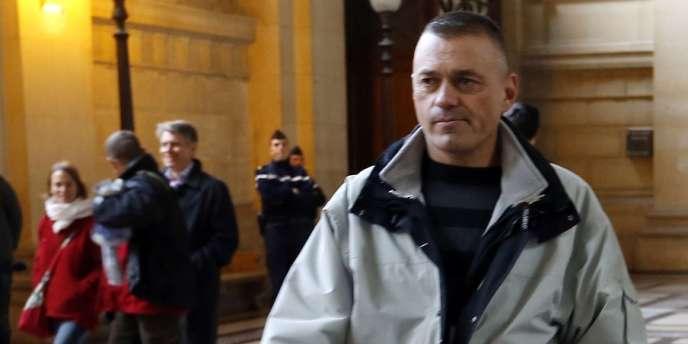 L'adjudant-chef Guy Raugel, le 4 décembre, à Paris.