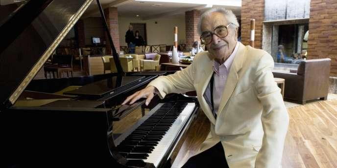 Le pianiste de jazz Dave Brubeck à Monterey (Californie), le 22 septembre 2007.