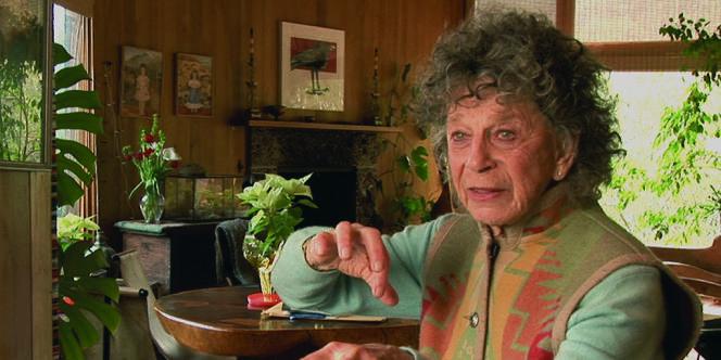 Anna Halprin dans le film documentaire suisse de Ruedi Gerber,