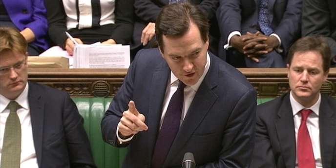Le ministre britannique des finances, George Osbornes, a présenté, mercredi 20 mars, son quatrième budget d'austérité.