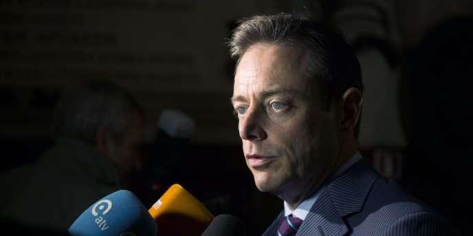 Bart De Wever, le 16 novembre à Anvers.