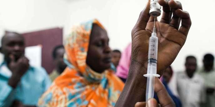 La première phase de vaccination, qui concerne 2,2 des quelque 6 millions d'habitants de la région, est presque terminée au Darfour.
