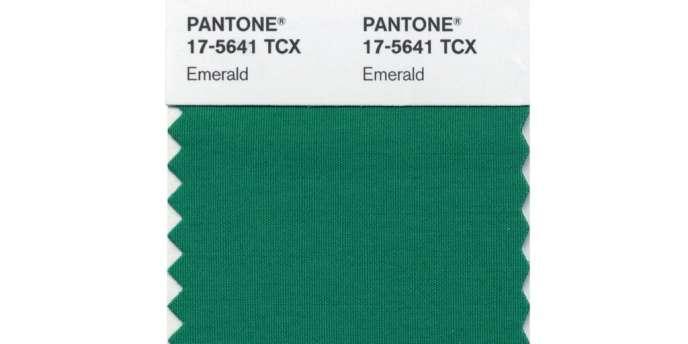 La nuance émeraude a été désignée couleur de l'année 2013 par Pantone.