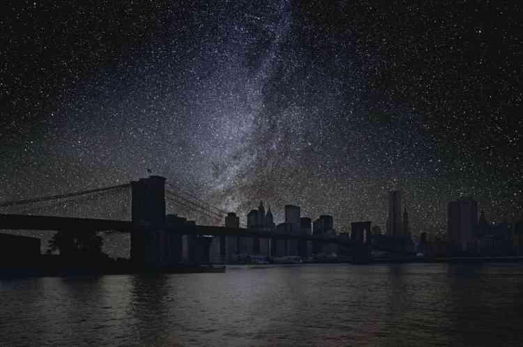 """New York, le 10 septembre 2010. 40° 42' 16"""" de latitude nord. Temps sidéral : 3 h 40.-"""