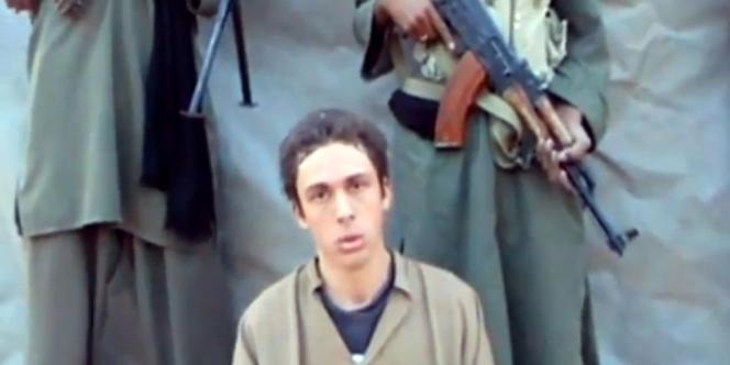 Pierre Legrand, l'un des quatre otages français retenus dans le nord du Mali par AQMI.