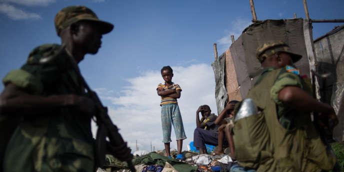 L'armée congolaise est revenue à Goma le 3 décembre après que les rebelles du M23 se sont retirés de la ville.