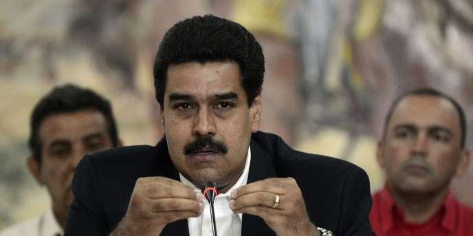 Nicolas Maduro, actuel vice-président vénézuélien (ici le 2 mai à Caracas), assurerait l'intérim en cas de défaillance de M. Chavez