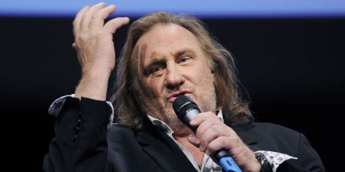 Gérard Depardieu, le 8 octobre 2011.