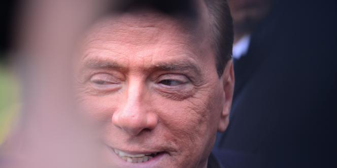 Silvio Berlusconi, le 8 décembre 2012.
