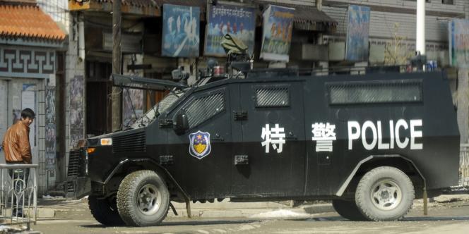 Le drame s'est produit dimanche dans la province du Qinghai, peuplée à 68 % de Tibétains et devenue un haut lieu de la protestation contre la domination chinoise.