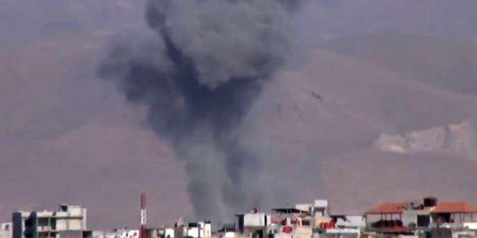 Près de Damas, lundi 10 décembre 2012.