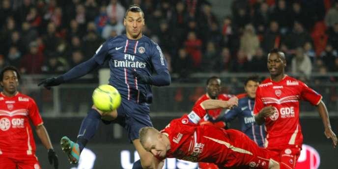 Zlatan Ibrahimovic avait réussi un triplé à Valenciennes, le 11 décembre.