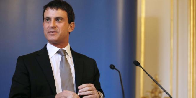 Manuel Valls, le 8 décembre.