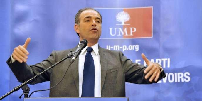 Jean-François Copé à Chartres, lundi 10 décembre 2012, lors d'une réunion avec des militants.