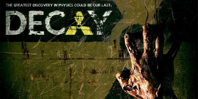 Une affiche du film de zombie