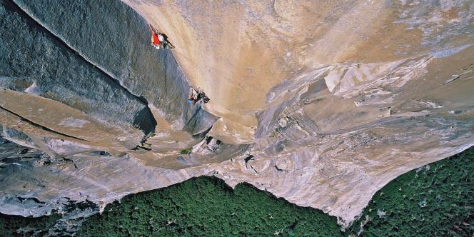 A Yosemite (Californie). La durée moyenne de séjour dans ce parc naturel est désormais de cinq heures, contre 48 heures pour la génération précédente.