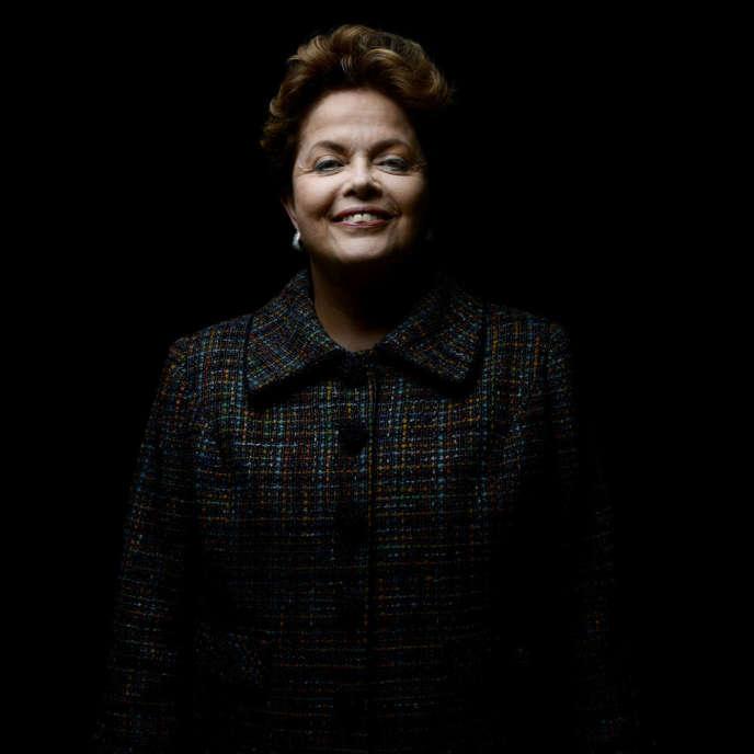 Dilma Roussef, le 12 décembre à Paris.
