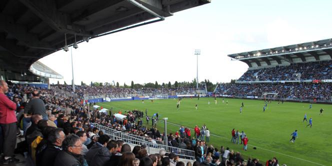 Le stade de Bastia a été suspendu par le Ligue de football professionnel après une série d'incidents depuis le début de saison.