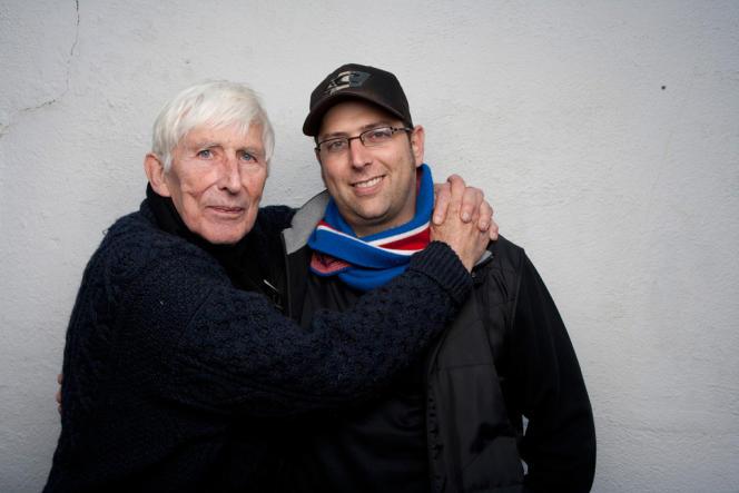 Tomi Ungerer et Brad Bernstein dans le film documentaire américain de Brad Bernstein,