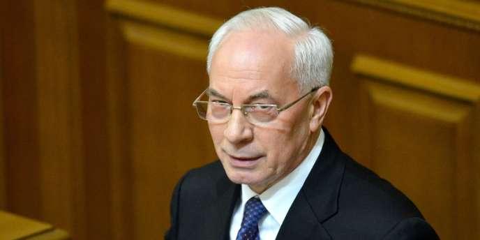 Le premier ministre ukrainien Nikolaï Azarov a été reconduit dans ses fonctions le 13 décembre 2012.