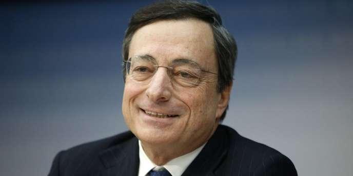 Le patron de la Banque centrale européenne, Mario Draghi. Le 26 juillet 2012, l'Italien avait affirmé que la BCE était prête à tout pour préserver l'euro.