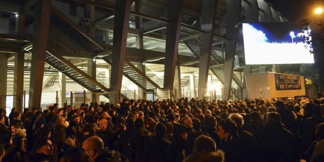 Le match Basti-Marseille comptant pour la 17e journée de la L1 s'était déjà déroulé à huis clos.