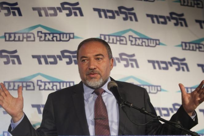 Avigdor Lieberman, le ministre des affaires étrangères d'Israël, à Tel-Aviv le 13décembre2012.