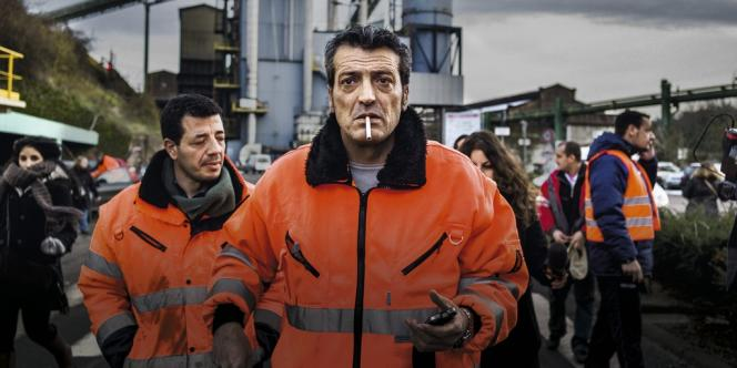 Edouard Martin, le 6 décembre 2012, à Florange.