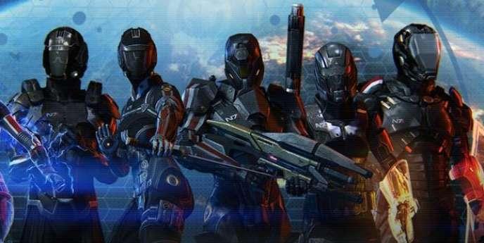 Capture du jeu Mass Effect 3.