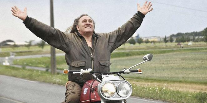 L'acteur Gérard Depardieu dans le film