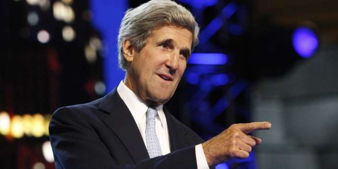 John Kerry, le 5 septembre 2012, en Caroline du Nord.