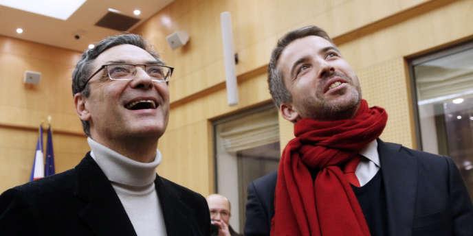 Patrick Devedjian, le 16 décembre à Antony.
