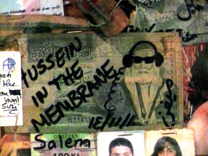 Sur le mur d'un bar communiste de Ras Beyrouth (Liban).