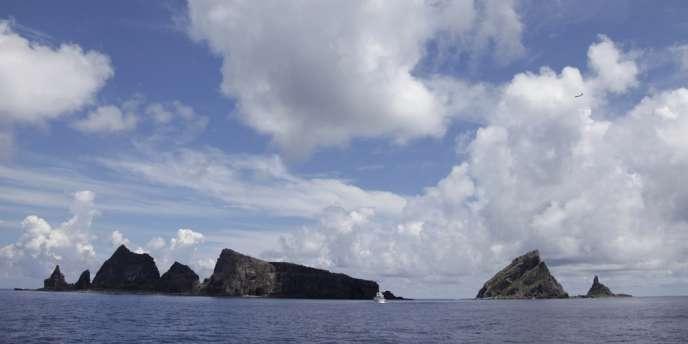 Les îlots Senkaku, en mer de Chine orientale, le 13 décembre.